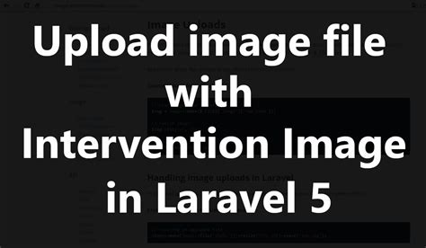 Intervention Image Laravel 5