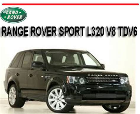 car repair manuals download 2012 land rover range rover head up display range rover sport l320 v8 tdv6 2005 2012 repair manual download m