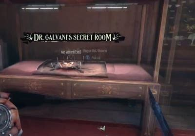 dishonored dr galvani s secret room orcz the - Dishonored 3rd Floor Bricked Room