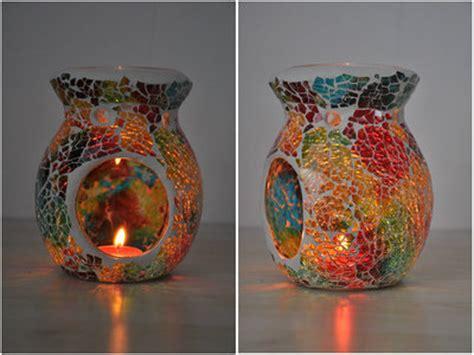 T Light Candle Isi 10 Untuk Burner Spa Khas Bali Mosaic Candle Aromatherapy Furnance Candle Warmer Tealight