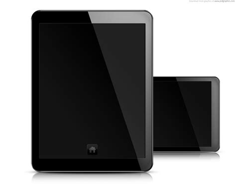tablet template psd tablet pc blank screen psd template psdgraphics