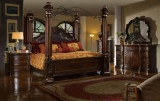 Luxury King Size Canopy Bedroom Sets Formal Luxury Traditional 4p Bedroom Set Cal King Size Bed