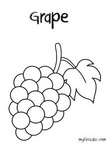 grapes coloring page free coloring pages of green grapes