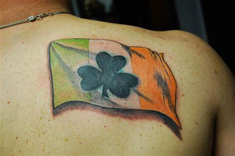 irish flag tattoo designs revealed what your says about you waterford