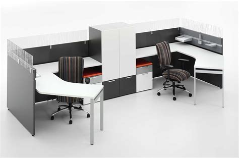 liber t home office kit with two reversible desk panels 2 person office desk home furniture design