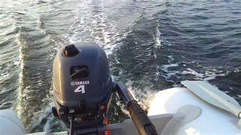 rubberboot met 4pk motor kopen varen op het veerse meer met een 3 meter lange rubberboot