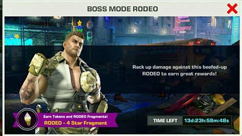 Mibil Rodeo tekken mobile rodeo 4 fragment vs 1 2 3 4 fighters 鉄拳