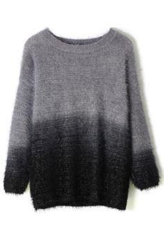 Ombre Mohair Sweater Black 1000 ideas about fluffy sweater on angora