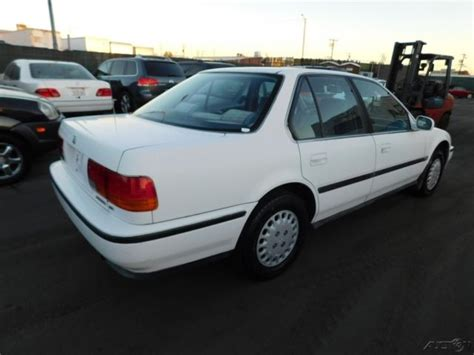 old car manuals online 1992 honda accord engine control 1992 honda accord lx used 2 2l i4 16v manual sedan no reserve