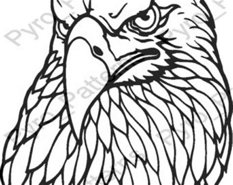 wood burning templates free pyrography wood burning bald eagle bird pattern