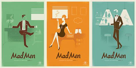 1960 s graphic design design 1960s inspired mad men posters ultra swank