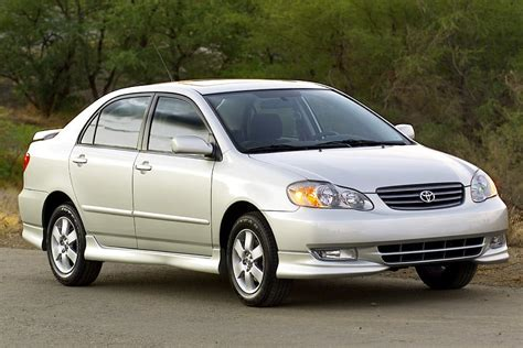 Toyota Corolla 2003 Price 2003 Toyota Corolla Reviews Specs And Prices Cars