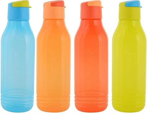 Tupperware Groovy Bottle tupperware aquasafe fliptop triangular groovy 750 ml