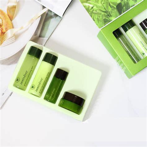 Inisfree Green Tea Special Kit bộ dưỡng tr 224 xanh 4 m 243 n innisfree green tea special kit