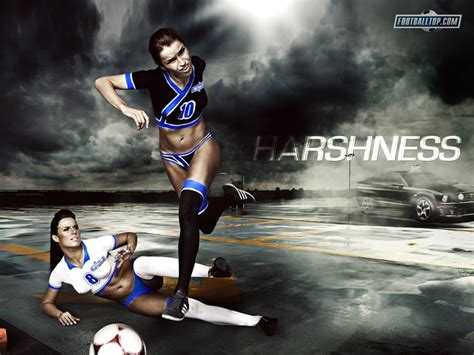 Wallpaper Girl Football | 17 best images about football soccer wallpapers on