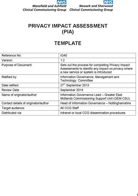 social impact assessment report template impact assessment templates free premium