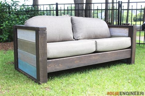 outdoor loveseat plans rogue engineer free plans outdoor wood plank loveseat