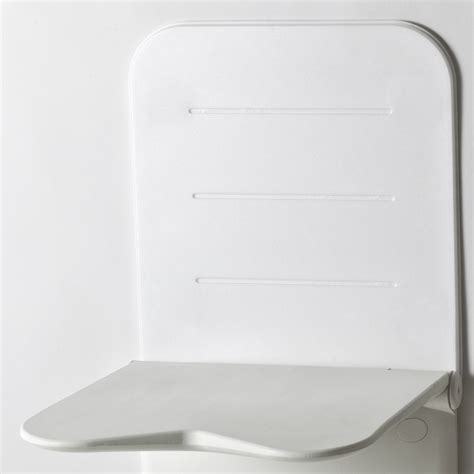 100  [ Plastic Shower Bench ]   Akw 2000 Series Folding Shower Seat With Back And Arms And Grey