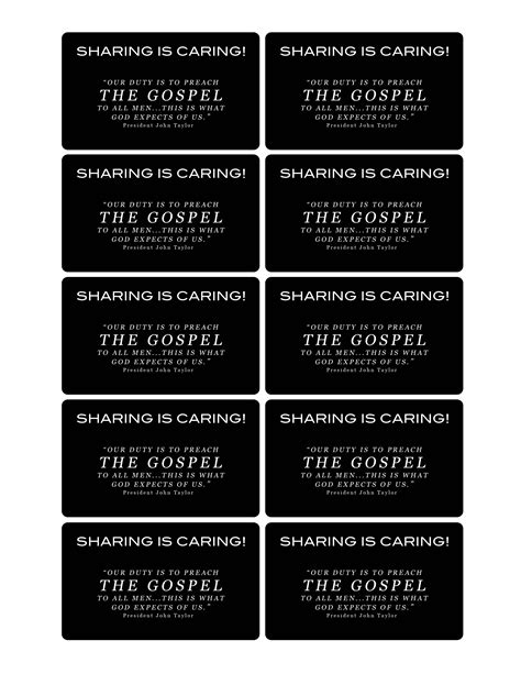 printable lds missionary name tags the scriptures teach that the gospel will be preached in