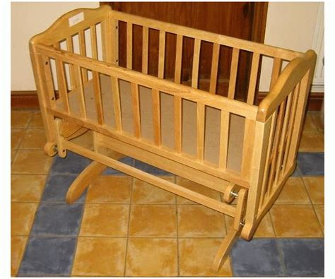 Sapling Crib by Sapling Glider Rocking Baby Crib Finish Bnib Ebay