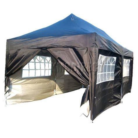 3m x 6m pop up gazebo waterproof canopy awning folding