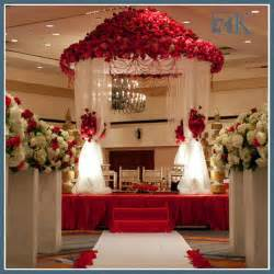 Bed Canopy Drapes Wedding Stage Decor Romantic Decoration