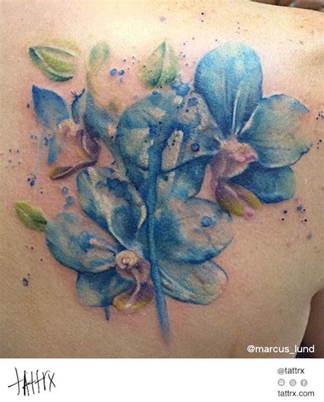 tattoo healing blue marcus lund tattoo blue orchids tattrx com artists