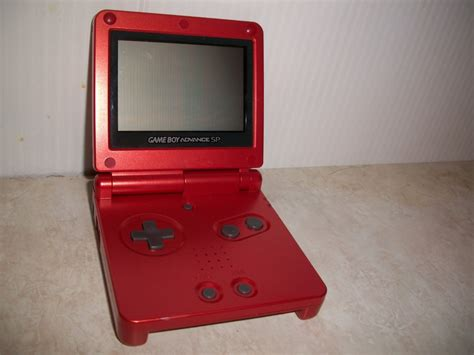 gameboy advance color nintendo gameboy advance sp ac adapter flaming