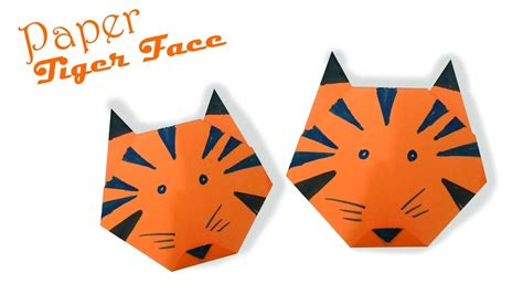 how to make an origami tiger easy step by step