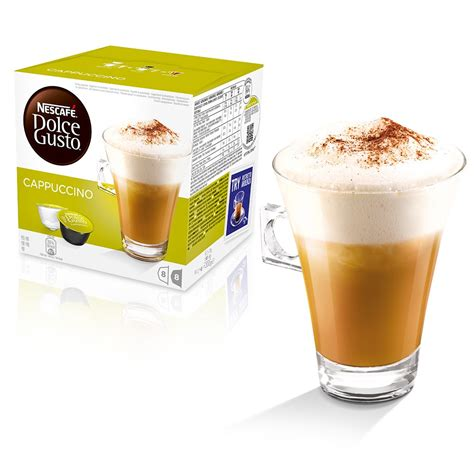 Dolce Gusto Cappuccino By Ancha cappuccino coffee pods nescaf 201 174 dolce gusto 174