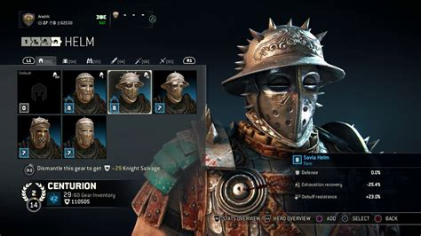 Savia Set for honor centurion armor set savia chest and arms
