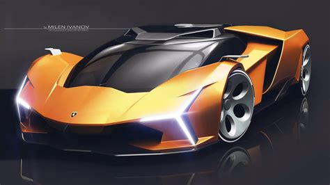 Lamborghini X by Lamborghini Concept X Created At The Centro Stile