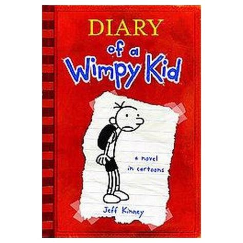 pictures of jeff kinney books diary of a wimpy kid hardcover by jeff kinney target