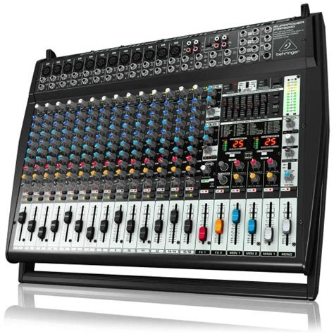 Power Mixer Behringer Pmp6000 best mixer review 2014 behringer europower pmp6000 1600