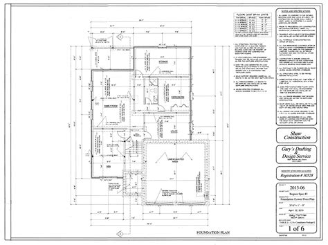 house foundation plan home building plans 16067