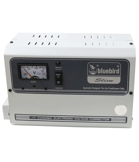 bluebird 5 kva 170v voltage stabilizer for ac upto 2 ton