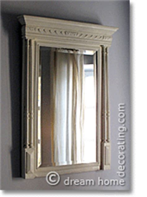 country bathroom mirrors cure shower drainmirror downward effect