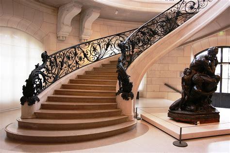 jugendstil treppenhaus photo gratuite escalier nouveau petit palais