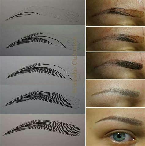 tattoo eyebrows shapes media cache ec0 pinimg com 736x fe 80 ad