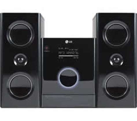 lg lfa840 compact audio system user manual