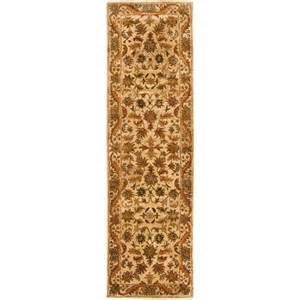 safavieh antiquity gold 2 ft 3 in x 10 ft rug runner