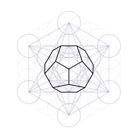 geometric pattern in corel draw metatron s cube