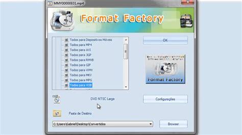 format factory not working video aula usando o format factory como conversor de