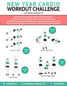 new year cardio workout 30 day challenge the