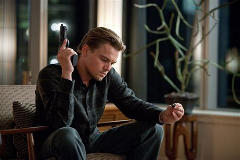 leonardo dicaprio movies inception movie leonardo dicaprio gun wallpaper desktop