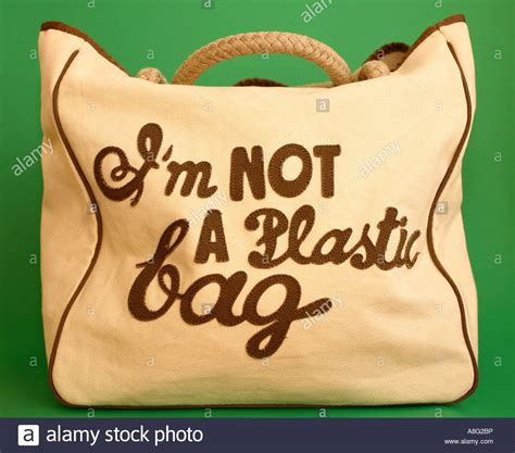 Anya Hindmarchs Im Not A Plastic Bag Bag a cotton anya hindmarch i m not a plastic bag bag stock