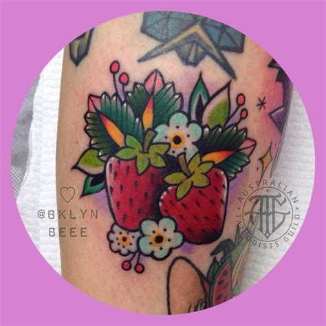 tattoo paper brisbane 25 best ideas about strawberry tattoo on pinterest