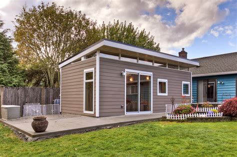 Shed Custom Homes by Custom Modern Shed Exterior Seattle By Powell Custom Homes Renovations