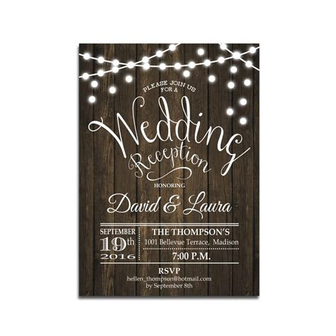 wedding reception invite sles wedding reception invitations wedding invitation templates