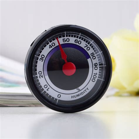 portable accurate durable analog hygrometer humidity meter